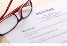 Glasses Resume Image