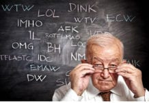 Old Man Slang Image