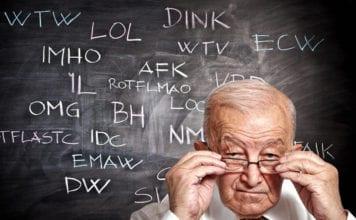 Old Man Slang Image