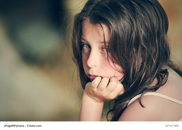 Sad Child Image