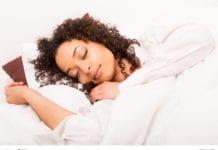 lady sleeping image