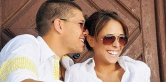 Couple In Sunglasses Image