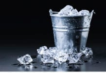 bucket of ice image