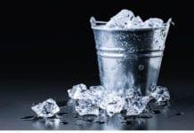 bucket of ice image