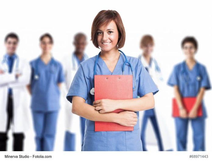 Smiling Nurse Image