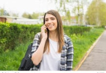 Millennial On The Phone Image