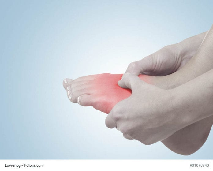 sore foot image