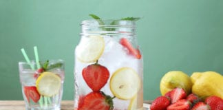 infused water image