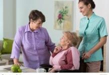 Three Women Meeting Image