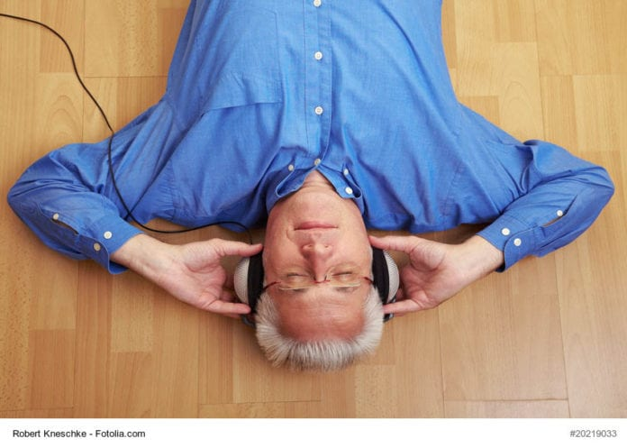 Man Listening To Music Image