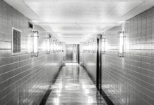 Dark Hospital Hall Image