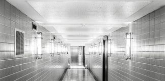 Dark Hospital Hall Image