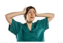 Shocked Nurse Image