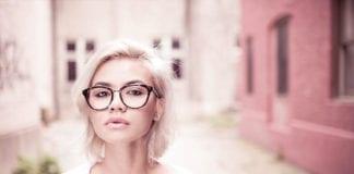 Gril In Glasses