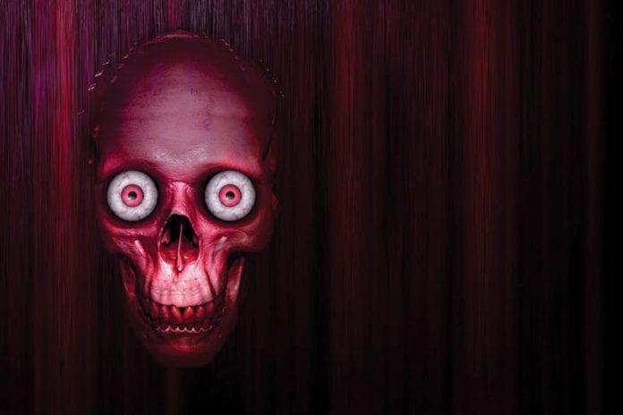 Spooky Skull Image