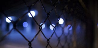 Dark Fence Image