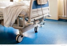 Empty Hospital Bed Image