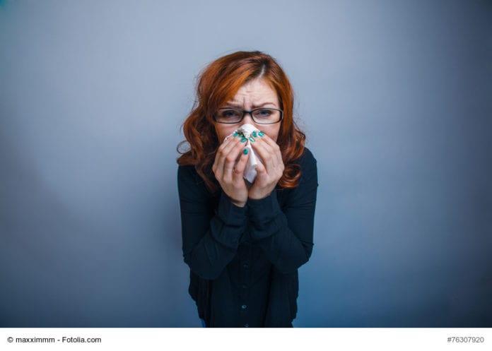 Sick Lady Image