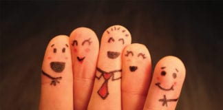 """""""Five happy finger puppets"""""""