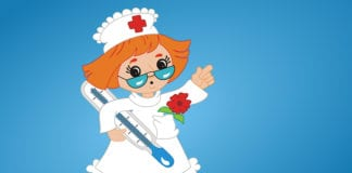 Nurse Cartoon Image