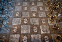 White Gold Chess Image