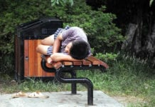 Person Napping
