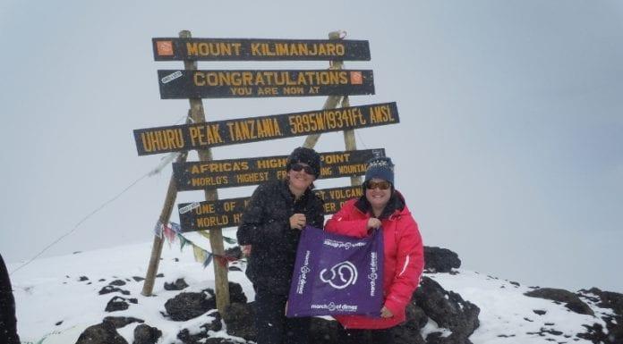 March of Dimes Foundation Mt Kilimanjaro Image