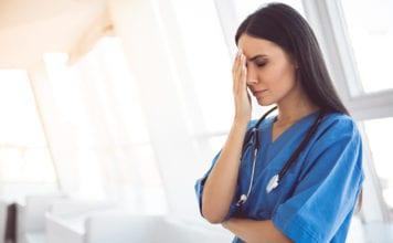 """Tired nurse"""
