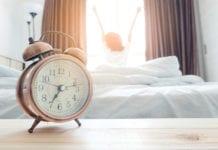 """""""Beyond alarm clock woman waking"""""""
