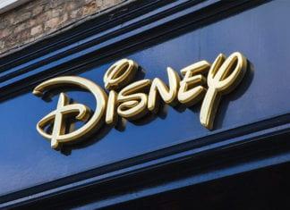 """""""Close-up Disney sign"""""""