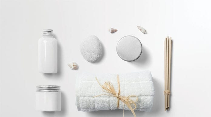 """Collection of white spa goodies"""