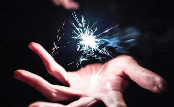 """""""Sparkling magic wand over hand"""""""