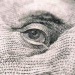 """Closeup of twenty dollar bill"""