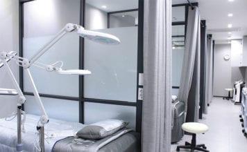 """Clean hospital room"""
