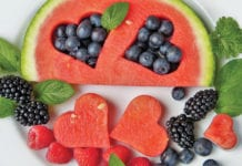 """""""Plate of Watermelon and other fruits"""""""