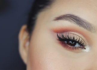 """Woman with eye makeup"""