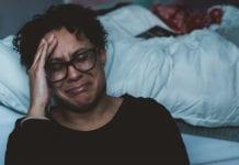"""Woman crying"""