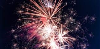 """""""Fireworks exploding"""""""