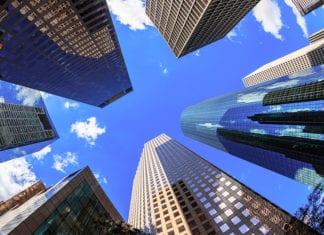 Vertical cityscape
