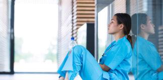 Nurse upset about something