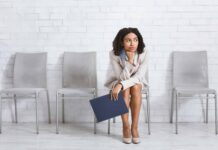 Woman ready for interview